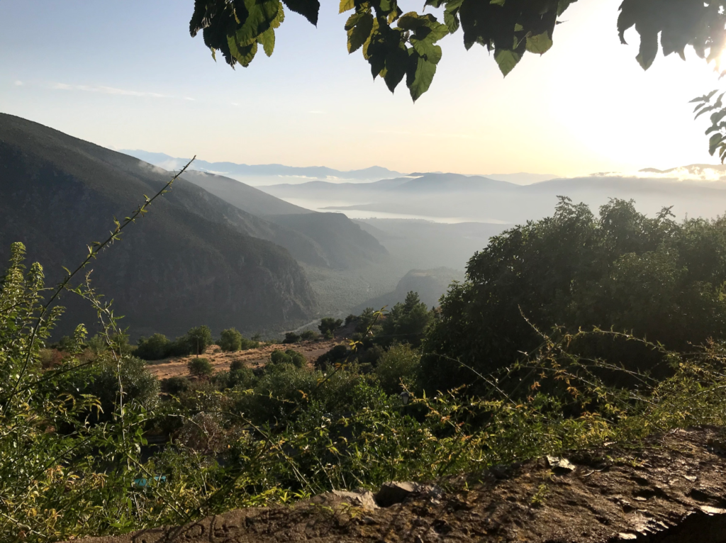A view from Delphi