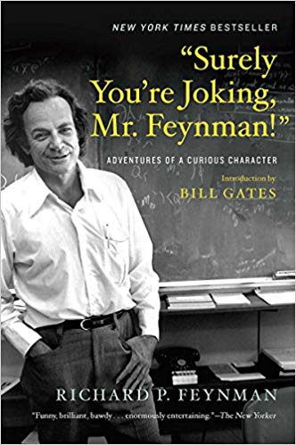 Surely You're Joking Mr Feynman Book Cover