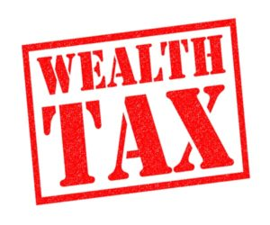 Feature image for wealth tax