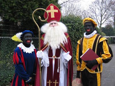 Sinterklaas and Black Pete, Dutch black face