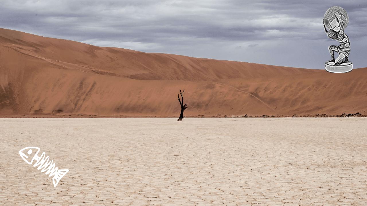 sand, geopolitics and power